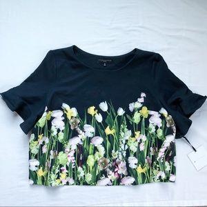 Victoria Beckham Floral Blouse Top Plus Size 3X